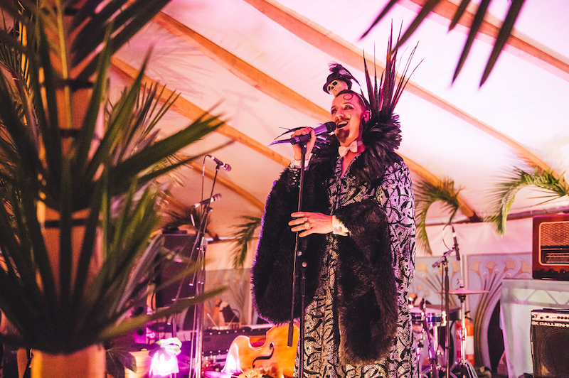 Cabaret in The Orangery Wilderness Festival