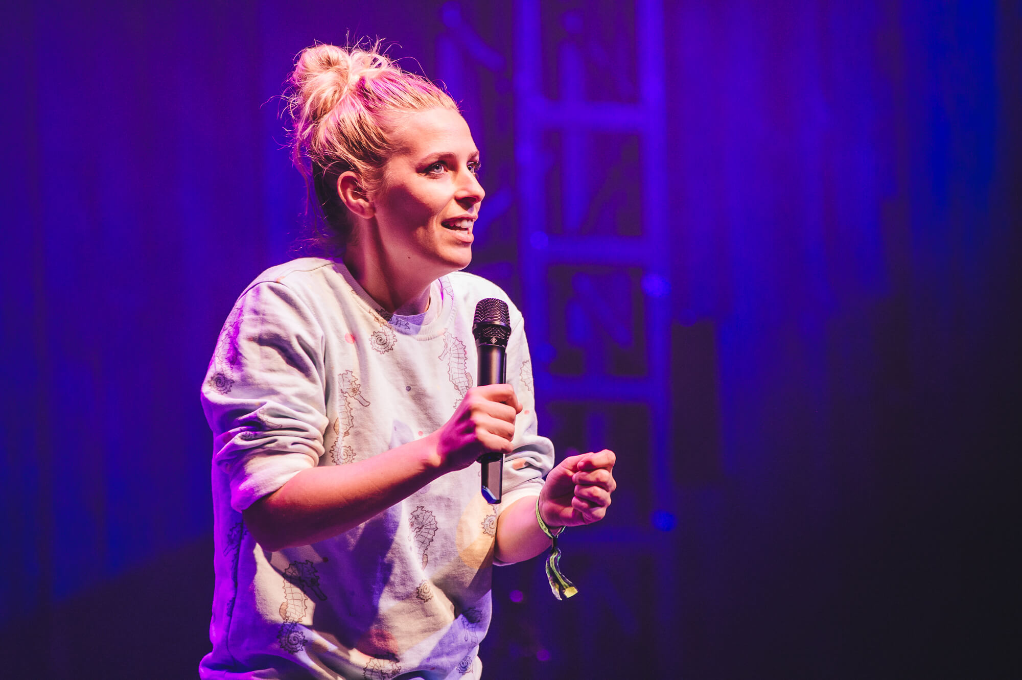 Wilderness Festival Sara Pascoe at Comedy Night